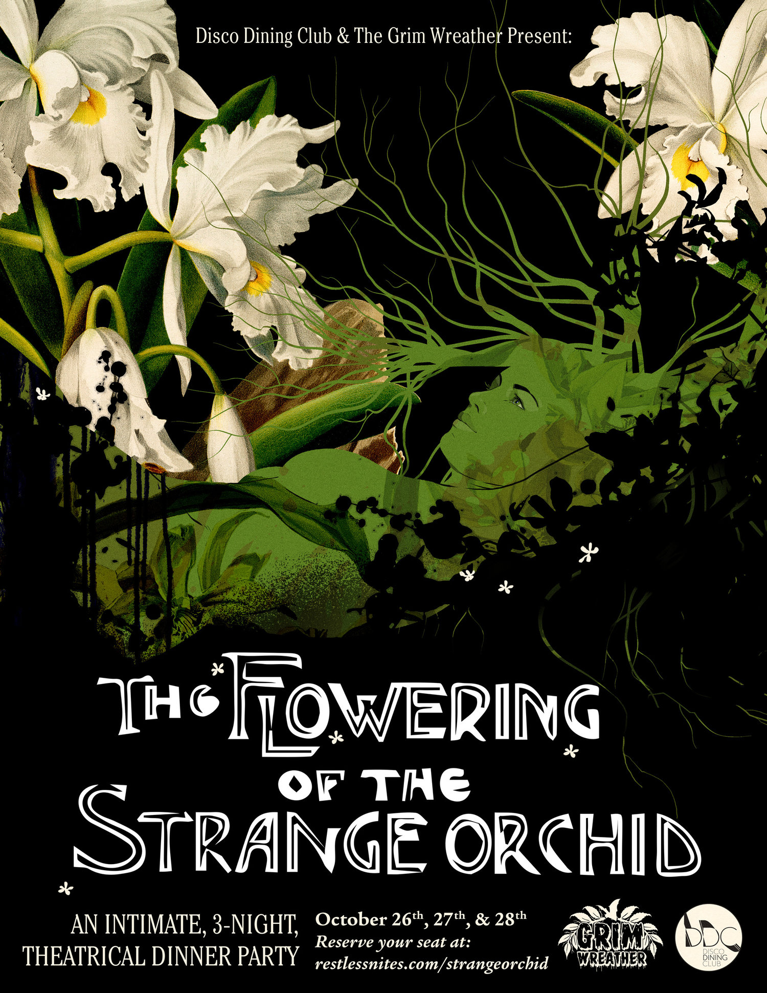 The Flowering of Strange Orchid Presented by Disco Dining Club