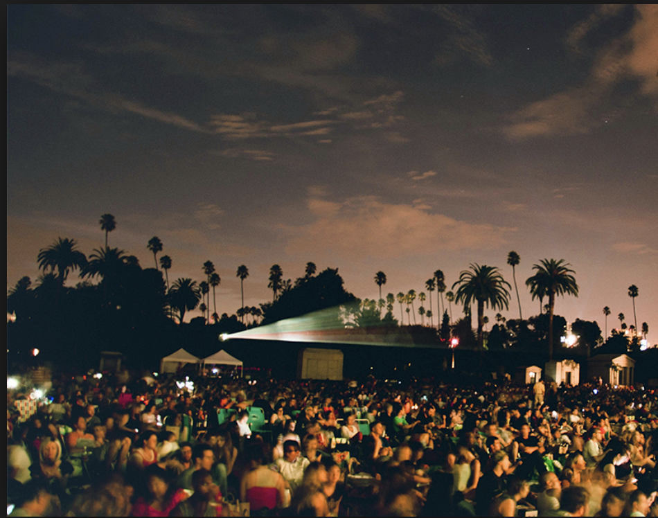 Cinespia @ Hollywood Forever Cemetery