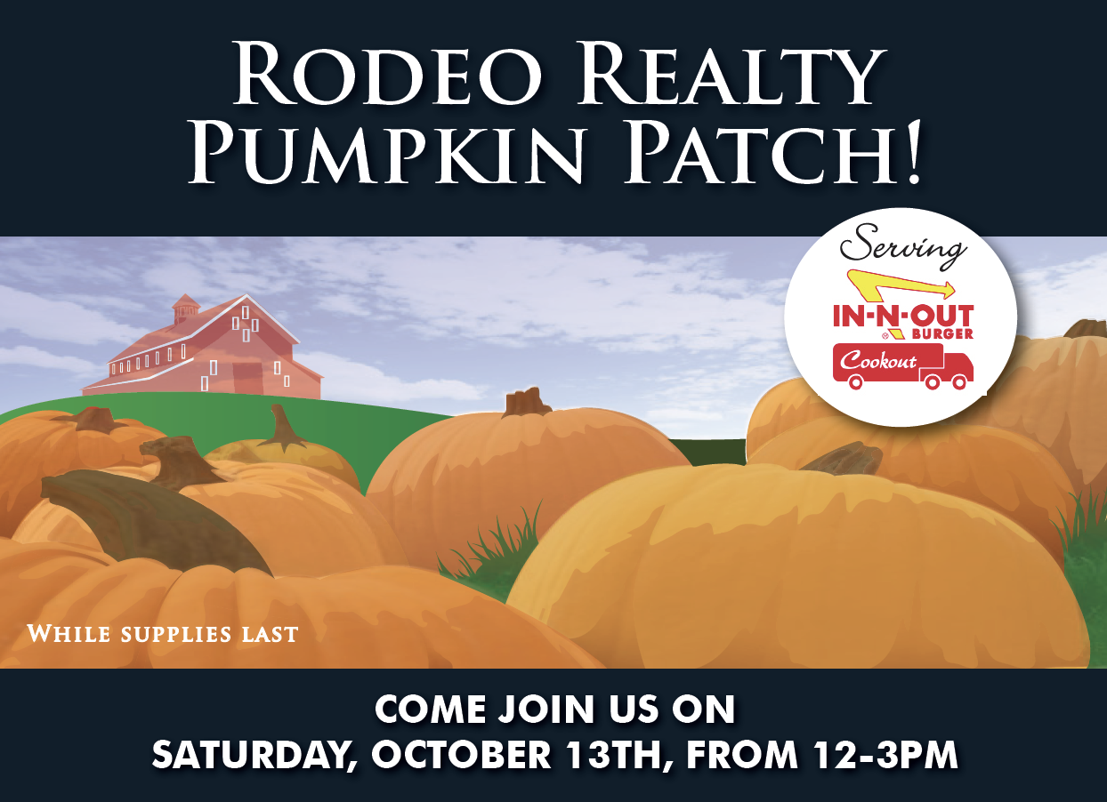 Rodeo Realty Pumpkin Patch