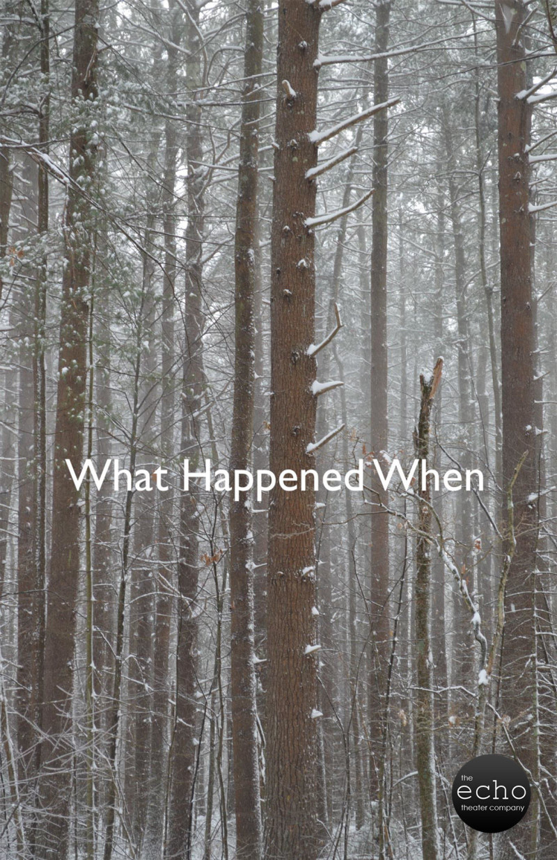 What Happened When Presented by the Echo Theatre Co.