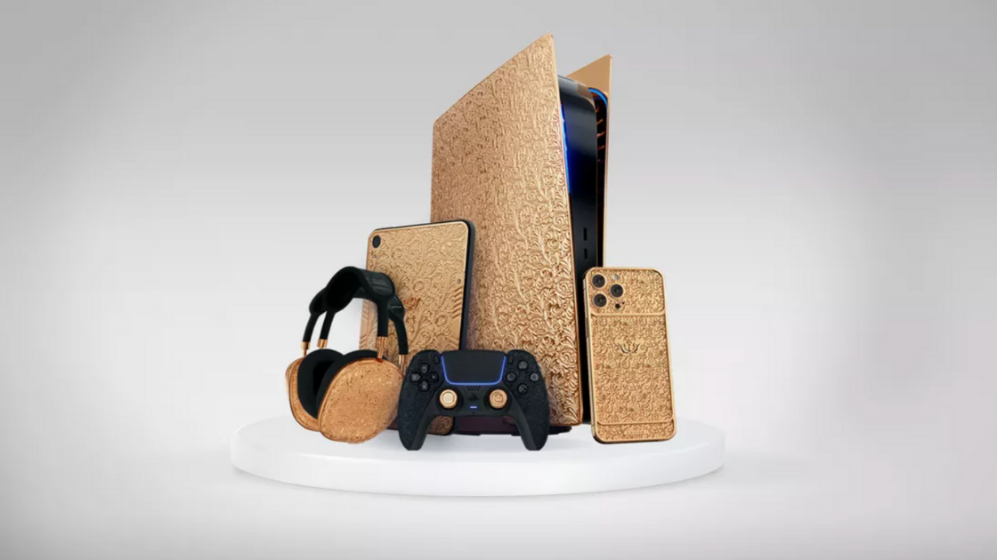 From a $320k Gold-Plated PS5 to Realistic Holograms and More | Tech News